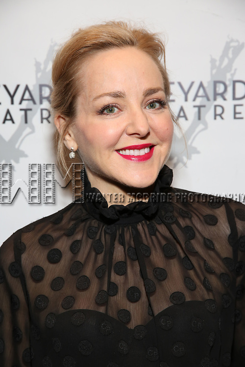 "Geneva Carr attending the Opening Night Performance for The Vineyard Theatre production of  ""Do You Feel Anger?"" at the Vineyard Theatre on April 2, 2019 in New York City."