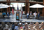 U.S. Sen. Catherine Cortez Masto, D-Nev., speaks at the 22nd annual Lake Tahoe Summit, at Sand Harbor State Park, near Incline Village, Nev., on Tuesday, Aug. 7, 2018. <br /> Photo by Cathleen Allison/Nevada Momentum