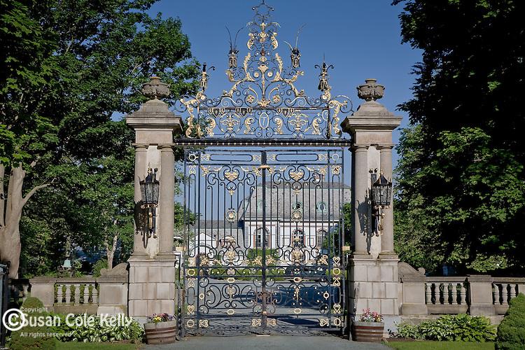 Belcourt Castle mansion in Newport, RI, USA