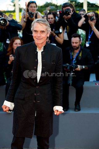 Jeremy Irons at the opening ceremony and the premiere of  at the 2016 Venice Film Festival.<br /> August 31, 2016  Venice, Italy<br /> CAP/KA<br /> &copy;Kristina Afanasyeva/Capital Pictures /MediaPunch ***NORTH AND SOUTH AMERICAS ONLY***