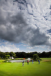 GROESBEEK - Rijk van Nijmegen, de Groesbeekse Baan. Hole 7, par 3. COPYRIGHT KOEN SUYK