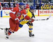 Ondrej Palat  (Czech Republic - 14), William Wallén (Sweden - 22) - Sweden defeated the Czech Republic 4-2 at the Urban Plains Center in Fargo, North Dakota, on Saturday, April 18, 2009, in their final match of the 2009 World Under 18 Championship.