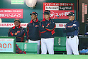 (L to R) . Osamu Higashio (JPN), . Kazuyoshi Tatsunami (JPN), . Koji Yamamoto (JPN), . Masataka Nashida (JPN), .MARCH 2, 2013 - WBC : .2013 World Baseball Classic .1st Round Pool A .between Japan 5-3 Brazil .at Yafuoku Dome, Fukuoka, Japan. .(Photo by YUTAKA/AFLO SPORT)