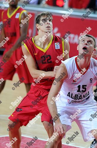 2012-08-27 / Basketbal / seizoen 2012-2013 / Belgian Lions / Ioann Iarochevitch..Foto: Mpics.be