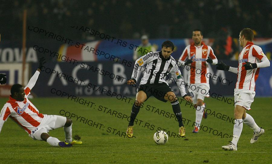 Tomic Nemanja, Sport, Fudbal, Crvena Zvezda  Partizan, 26.11.2011 (photo: Pedja Milosavljevic / thepedja@gmail.com / +381641260959)