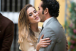 """Maria Leon and Alfonso Sanchez during the presentation of the second season of the """"Alli Abajo"""" serie of Atresmedia in Sevilla, Spain. February 09, 2016. (ALTERPHOTOS/ BorjaB.Hojas)"""