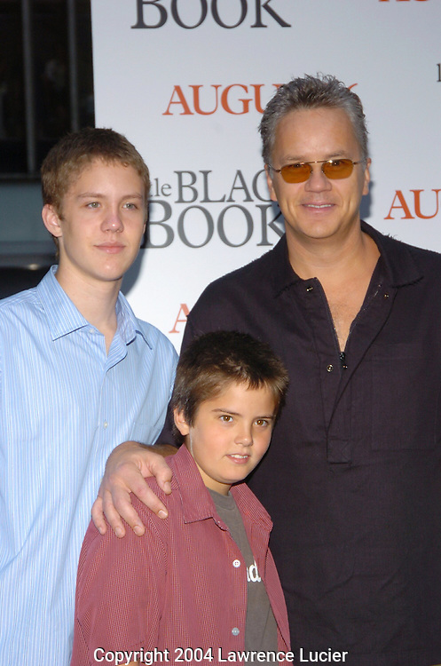 Tim Robbins and family