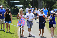 Enjoying the hot weather during Thursday's Round 1 of the 2017 PGA Championship held at Quail Hollow Golf Club, Charlotte, North Carolina, USA. 10th August 2017.<br /> Picture: Eoin Clarke | Golffile<br /> <br /> <br /> All photos usage must carry mandatory copyright credit (&copy; Golffile | Eoin Clarke)