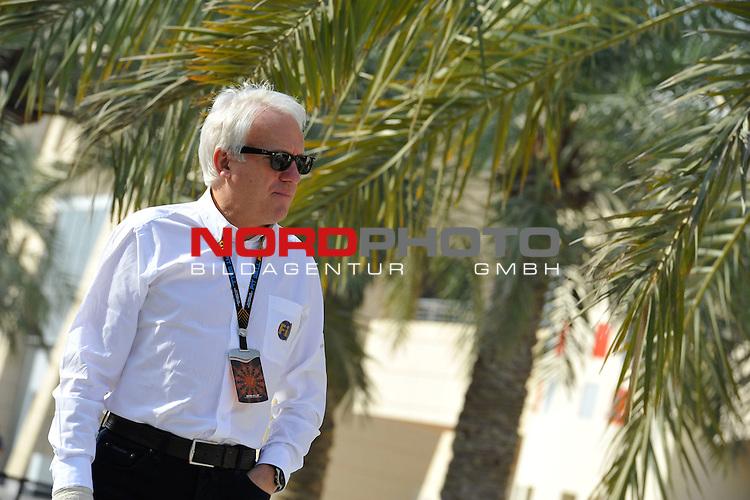 Charlie Whiting (GBR), FIA Safty delegate, Race director &amp; offical starter<br />  Foto &copy; nph / Mathis