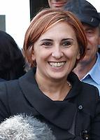 Presentazione dei candidati al consiglio comunale di Napoli del movimento cinque stelle<br /> Lea di Lucchio