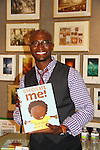 "09-28-11 Taye Diggs GL author ""Chocolate Me"" Books of Wonder, NYC - Anita Gillette Bk Mormon"