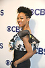 Sonequa Martin-Green of &quot;Star Trek: Discovery&quot;  attends the CBS Upfront 2018-2019 at The Plaza Hotel in New York, New York, USA on May 16, 2018.<br /> <br /> photo by Robin Platzer/Twin Images<br />  <br /> phone number 212-935-0770