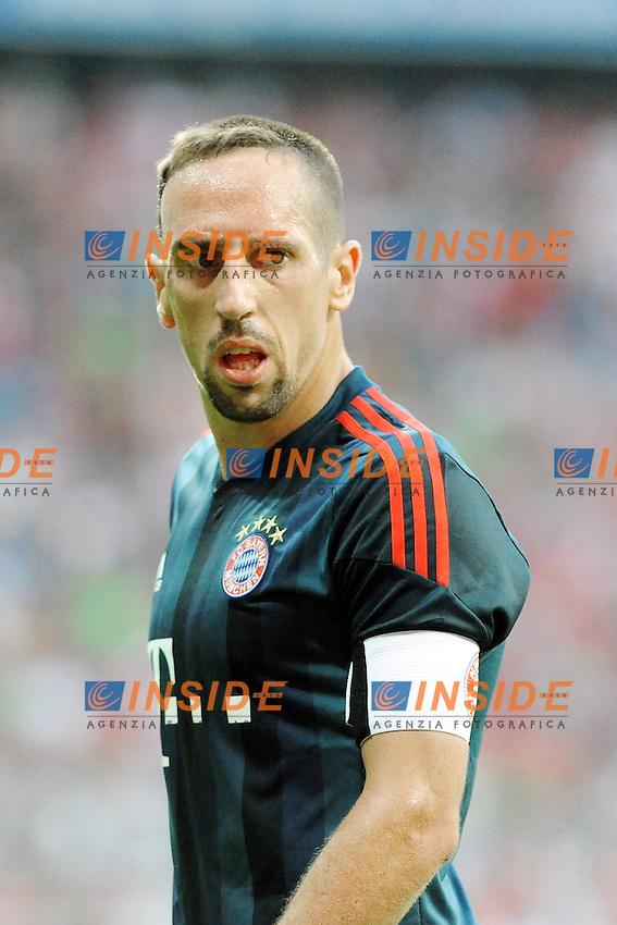 Franck RIBERY (FC Bayern Muenchen)<br /> 24/07/2013 Monaco, Allianz Arena.<br /> Bayern Monaco vs FC Barcelona<br /> Uli Hoeness Cup<br /> Foto  Christian Kolbert / Expa /Insidefoto