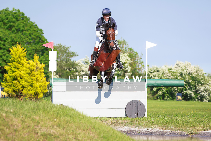 GBR-William Fox-Pitt (LITTLE FIRE) INTERIM-1ST: COOLEY FARM CCIYH1* CROSS COUNTRY: 2016 IRL-Tattersalls International Horse Trial (Friday 3 June) CREDIT: Libby Law COPYRIGHT: LIBBY LAW PHOTOGRAPHY