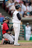 August 5, 2009: Conner Crumbliss of the Kane County Cougars. The Cougars are the Midwest League affiliate for the Oakland Athletics. Photo by: Chris Proctor/Four Seam Images
