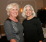 Waterbury, CT 110418MK06 Marie Laffin, of Rachel's Vineyard and Anne Boars, Chair of Forty Days for Life gathered at the annual Carolyn's Place dinner held at La Bella Vista in Waterbury. Michael Kabelka / Republican-American