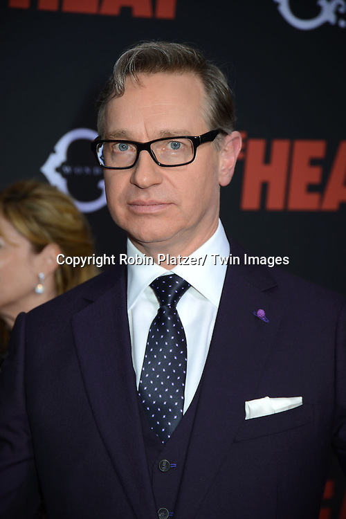 "Director Paul Feig attends the New York Premiere of ""The Heat"" on June 23,2013 at the Ziegfeld Theatre in New York City. The movie stars Sandra Bullock, Melissa McCarthy, Demian Bichir, Marlon Wayans, Joey McIntyre, Jessica Chaffin, Jamie Denbo, Nate Corddry, Steve Bannos, Spoken Reasons and Adam Ray."
