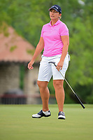 Angela Stanford (USA) talks to her putt on 2 during round 3 of  the Volunteers of America Texas Shootout Presented by JTBC, at the Las Colinas Country Club in Irving, Texas, USA. 4/29/2017.<br /> Picture: Golffile | Ken Murray<br /> <br /> <br /> All photo usage must carry mandatory copyright credit (&copy; Golffile | Ken Murray)