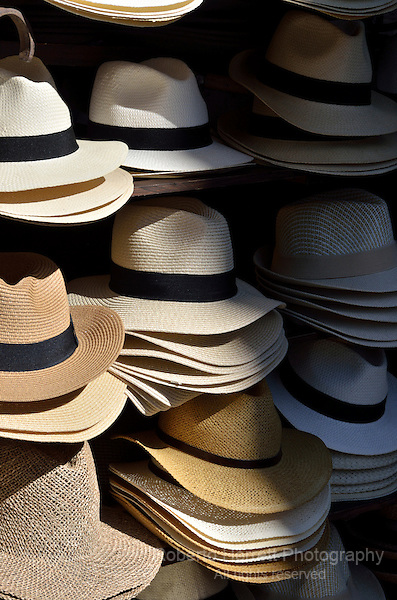 Panama hat display