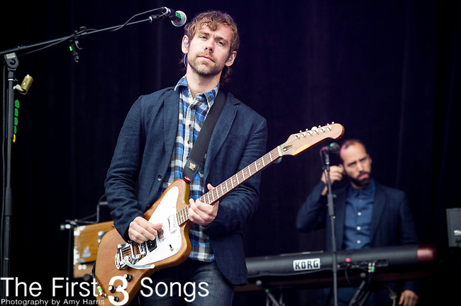 Aaron Dessner of The National performs at the Outside Lands Music & Art Festival at Golden Gate Park in San Francisco, California.