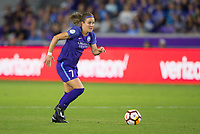 Orlando, FL - Saturday March 24, 2018: Orlando Pride midfielder Christine Nairn (7) during a regular season National Women's Soccer League (NWSL) match between the Orlando Pride and the Utah Royals FC at Orlando City Stadium. The game ended in a 1-1 draw.