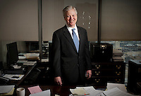 CEO and Chairman of Winstead PC law firm Kevin Sullivan (cq) at his office in Dallas, Texas, Thursday, January 13, 2011. Sullivan recently became CEO of the company...PHOTO/ MATT NAGER