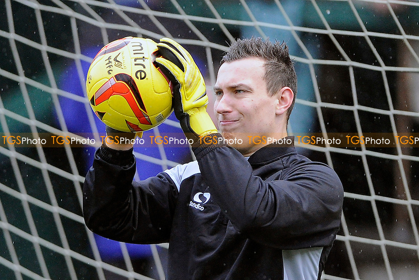 Marek Štech of Yeovil Town is back in goal for Yeovil Town after injury - Yeovil Town vs Blackburn Rovers - Sky Bet Championship Football at Huish Park, Yeovil, Somerset - 21/12/13 - MANDATORY CREDIT: Denis Murphy/TGSPHOTO - Self billing applies where appropriate - 0845 094 6026 - contact@tgsphoto.co.uk - NO UNPAID USE