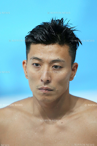 Ken Terauchi (JPN), JULY 30, 2015 - Diving : 16th FINA World Championships Kazan 2015 Men's 3m Springboard Preliminary at Aquatics Palace in Kazan, Russia. (Photo by Yohei Osada/AFLO SPORT)