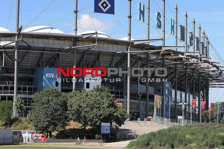 1.Liga FBL 2009/2010 HSV-Trainingsvorbereitung <br /> <br /> <br /> HSH Nordbank Arena Hamburg bei strahlendem Sonnenschein.<br /> <br /> <br /> <br /> <br /> Foto &copy; nph (nordphoto)<br /> <br /> *** Local Caption ***