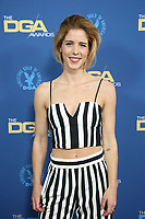 LOS ANGELES, CA - FEBRUARY 2: Emily Bett Rickards at the 71st Annual DGA Awards at the Hollywood & Highland Center's Ray Dolby Ballroom  in Los Angeles, California on February 2, 2019. <br /> CAP/MPIFS<br /> ©MPIFS/Capital Pictures