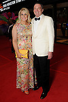 "Stephanie von Stein and Ralph Burch at the 2016 Houston Symphony Gala ""Carnaval"" at Jones Hall Saturday May 14,2016(Dave Rossman Photo)"