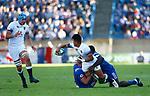 Marcus Smith England 25 v 33 France at Stade de la Mediterranee, Beziers, France, World Rugby U20 Championship 2018. Photo Martin Seras Lima
