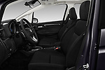 Front seat view of a 2018 Honda Jazz Exclusive 5 Door Hatchback front seat car photos