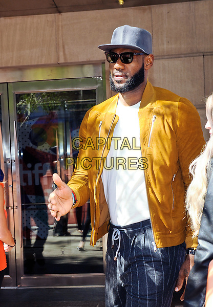 09 September 2017 - Toronto, Ontario Canada - LeBron James. 2017 Toronto International Film Festival - &quot;The Carter Effect&quot; Premiere held at Roy Thomson Hall. <br /> CAP/ADM/BPC<br /> &copy;BPC/ADM/Capital Pictures
