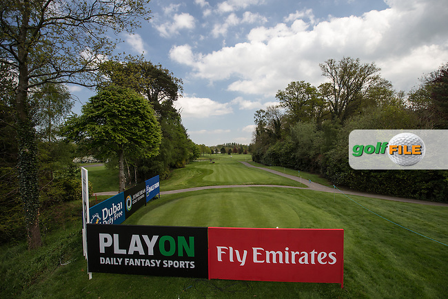 View of the 13th tee box during Monday's practice round ahead of the 2016 Dubai Duty Free Irish Open Hosted by The Rory Foundation which is played at the K Club Golf Resort, Straffan, Co. Kildare, Ireland. 16/05/2016. Picture Golffile | David Lloyd.<br /> <br /> All photo usage must display a mandatory copyright credit as: &copy; Golffile | David Lloyd.