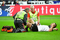 Dane Coles of New Zealand receives treatment for injury during the test match between France and New Zealand at Stade de France on November 11, 2017 in Paris, France. (Photo by Dave Winter/Icon Sport)