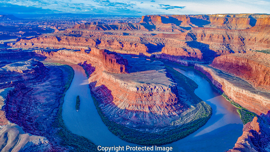 The Gooseneck of the Colorado River, Bears Ears Nationmal Monument, Utah, Meander Canyon