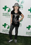 HOLLYWOOD, CA. - February 19: Actress Saige Ryan Campbell arrives at Global Green USA's 6th Annual Pre-Oscar Party held at Avalon Hollwood on Februray 19, 2009 in Hollywood, California.