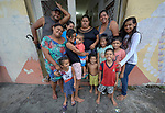 Residents of an occupied building in Manaus, Brazil. The mostly indigenous families seized the unoccupied Casa do Estudante in the city center in 2018.