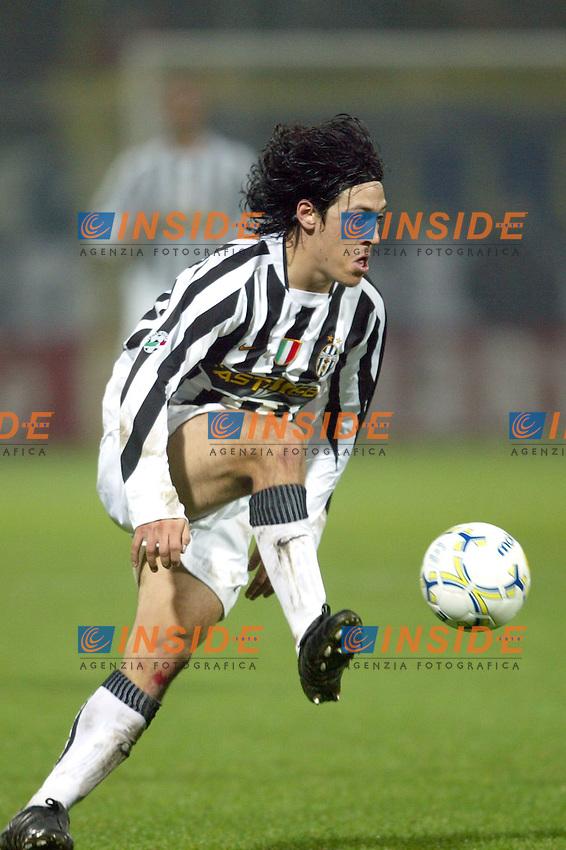 MODENA 22/11/2003<br /> MODENA JUVENTUS 0-2<br /> Mauro Camoranesi (Juventus)<br /> FOTO ANDREA STACCIOLI Insidefoto