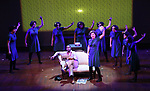 Students from Talent Unlimited High School perform 'Machinal' at The Fourth Annual High School Theatre Festival at The Shubert Theatre on March 19, 2018 in New York City.
