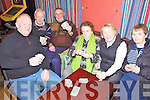 Poker Night - Having a great time at the Poker Drive in aid of the Autism Unit at Killahan NS held in McElligot's Bar Abbeydorney on Friday night were l/r Tom O'Connor, Patrick Leary, Aidan McElligot, Eileen Flaherty, Goretti Doyle and Cathy Buckley..Goretti correct..................................................................................................................................................................................................................................................................................................................... ............