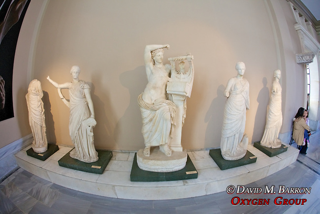 Miletus - Baths Of Faustina Statue Group, Istanbul Archaeology Museum