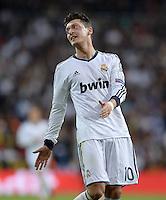 FUSSBALL  CHAMPIONS LEAGUE  HALBFINALE  RUECKSPIEL  2012/2013      Real Madrid - Borussia Dortmund                   30.04.2013 Enttaeuscht: Mesut Oezil (Real Madrid)