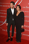 Uri Minkoff and sister Rebecaa Minkoff arrive at The Fashion Group International's Night of Stars 2017 gala at Cipriani Wall Street on October 26, 2017.