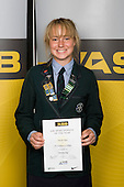 Girls Orienteering winner Nicola Peat from St Cuthbert's College. ASB College Sport Young Sportperson of the Year Awards 2008 held at Eden Park, Auckland, on Thursday November 13th, 2008.