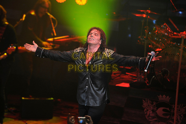 LONDON, ENGLAND - MARCH 20: Joey Tempest of 'Europe' performing at Shepherd's Bush Empire on March 20, 2015 in London, England.<br /> CAP/MAR<br /> &copy; Martin Harris/Capital Pictures
