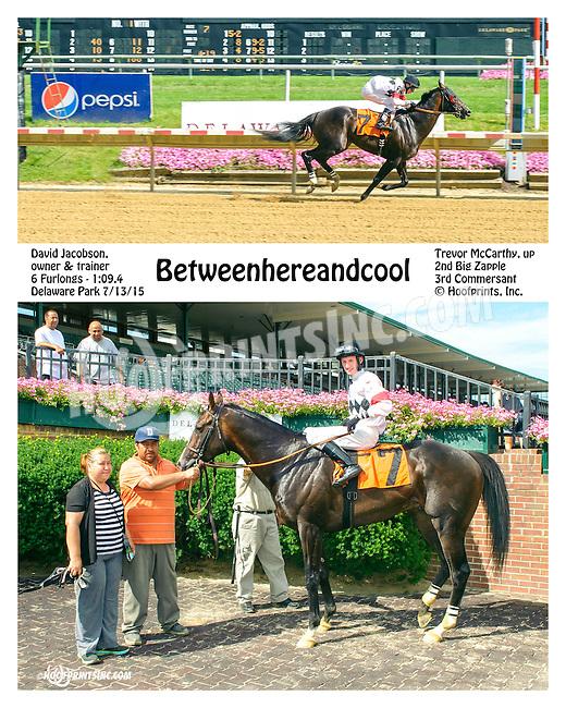 Betweenhereandcool winning at Delaware Park on 7/13/15