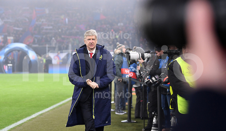 FUSSBALL CHAMPIONS LEAGUE SAISON 2016/2017 GRUPPENPHASE FC Basel - Arsenal London            06.12.2016 Trainer Arsene Wenger (Arsenal London)