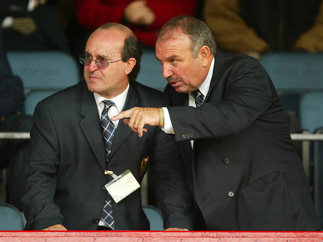 Giovanni di Stefano and Peter Marr.stock season 2003-04..pic willie vass